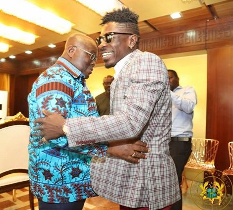 Presidency-Releases-VIDEO-Of-Shatta-Wale's-Visit