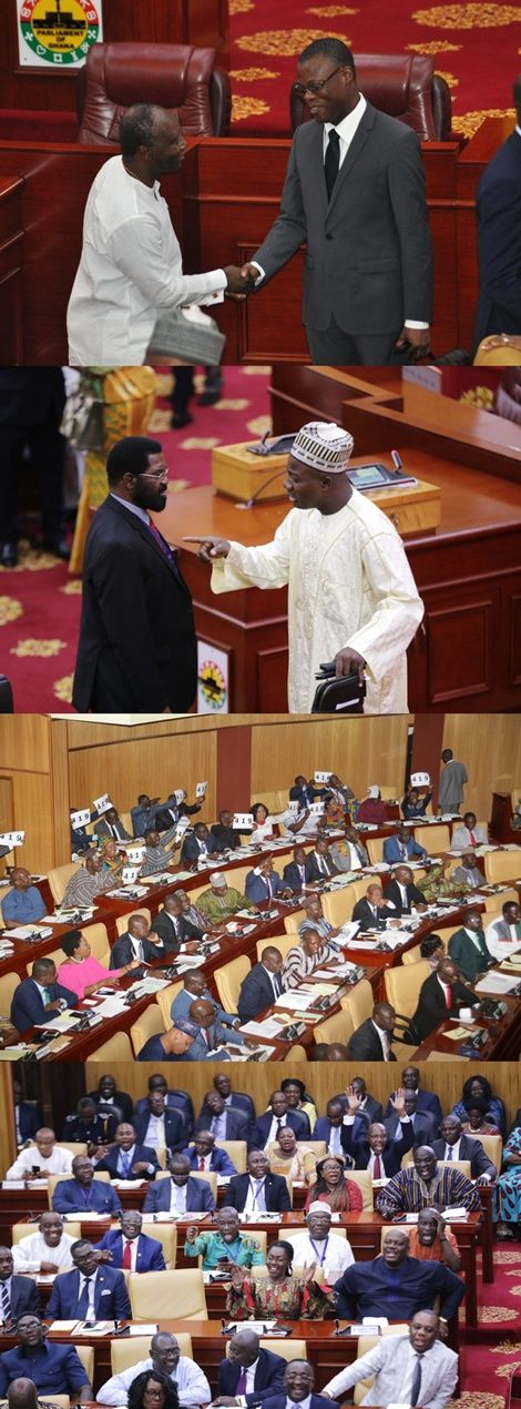 Dramatic-Scenes-In-Parliament-As-Finance-Minister-Presents-2018-Budget