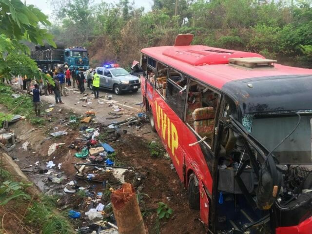 The driver of the VVIP Bus who involved in an accident at